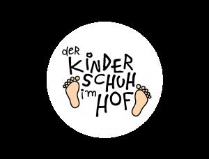 Der Kinderschuh im Hof Logo Kreis