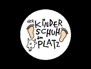Der Kinderschuh am Platz Logo Kreis