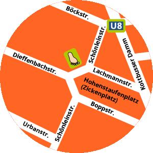 Der Kinderschuh am Platz Karte Standort Adresse